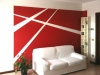 Wall Painting Rosso vivo