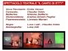 Regia e scenografia  Il canto di Etty